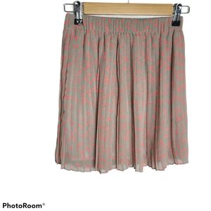 NWT Only coordain pleat mini skirt with stars
